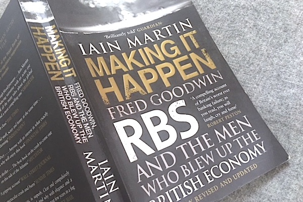 BOOK REVIEW: Making it Happen by Iain Martin